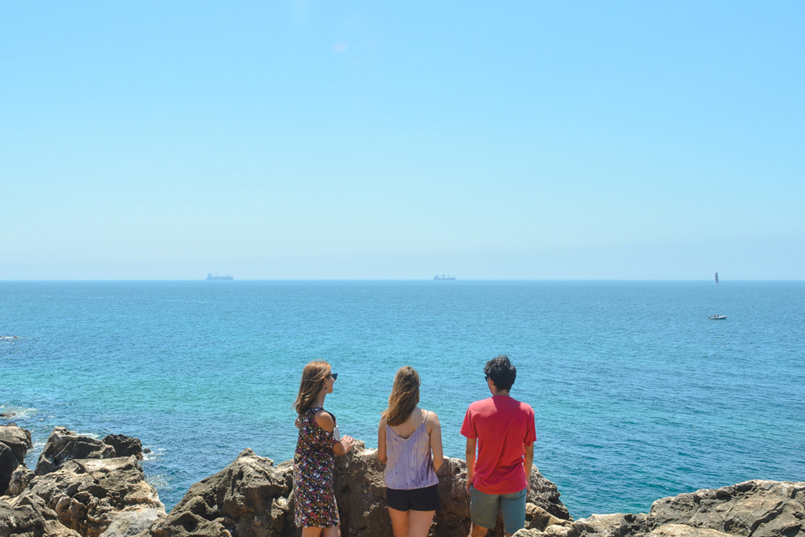 Hell's Mouth in Cascais Portugal