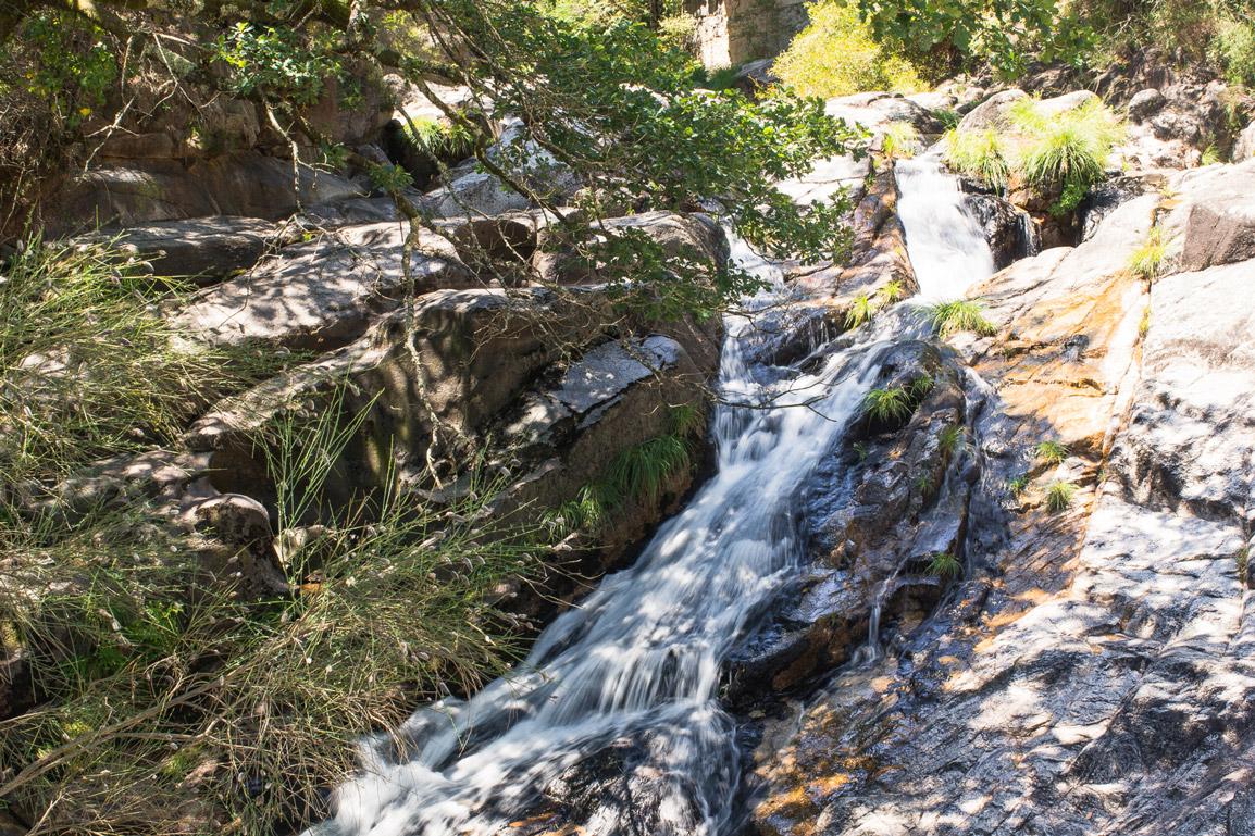Tahiti Waterfall in Geres Portugal