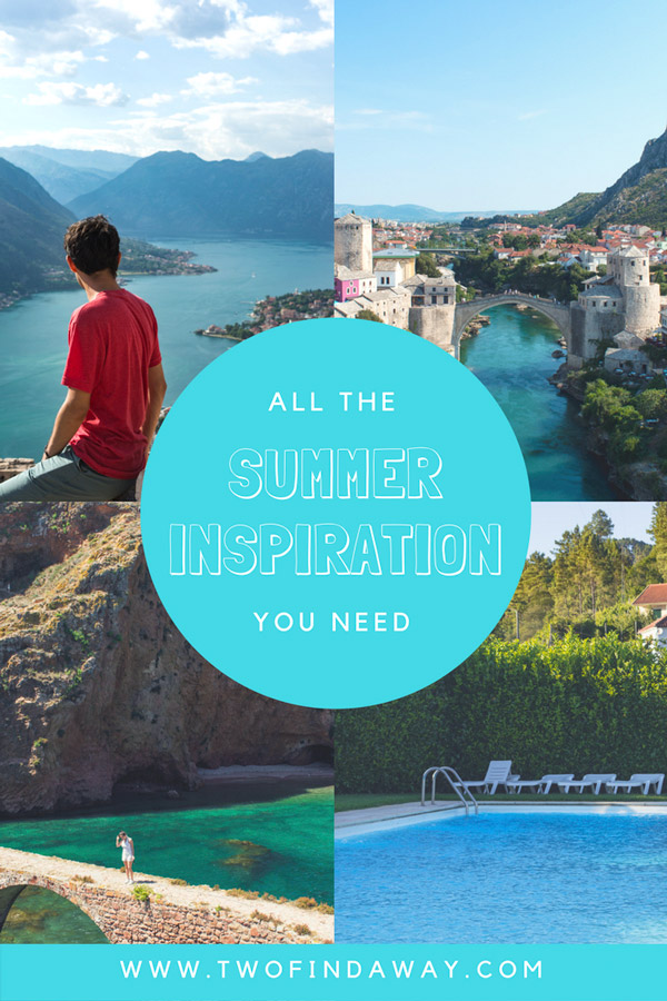 Looking for ideas for your next trip? Here you can find all the Summer inspiration you need by taking a look at what we did on our last Summer holidays. Summer Recap I Summer Travel I Portugal #travelblog #summertravel