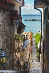 Charming Side Street in Nessebar Bulgaria