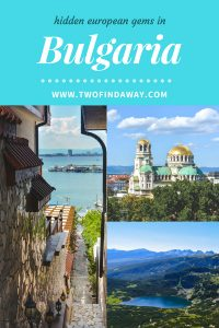 Our Bulgaria Itinerary is filled with breathtaking views and countless adventures you can't miss in one of the least explored countries in Europe.
