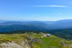Mountain View in Rila Bulgaria