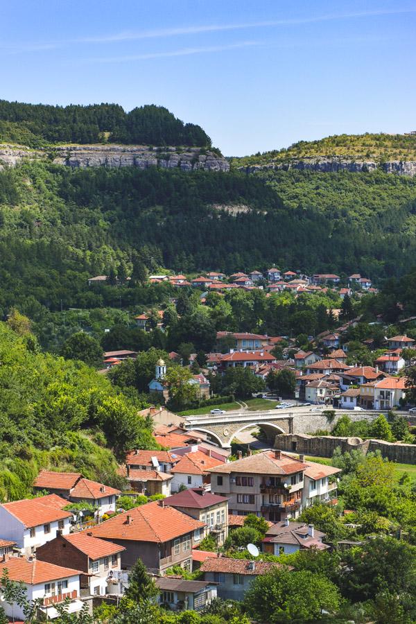 Lush Green Hills in Veliko Tarnovo Bulgaria