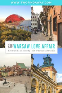 Erasmus Study Abroad: Our experience of one semester in Warsaw. A love story with a lot of useful tips and tricks on what to do and see in the city. Warsaw Guide I Visit Warsaw I Poland Travel I Erasmus #travelblog #visitwarsaw