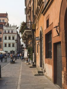 Houses of the Warsaw Old Town