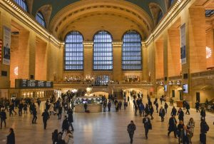 Inside the Grand Central Station in New York City