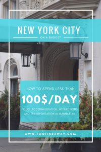 New York on a budget is possible! Get to know all our tricks and tips and exactly how much we spent on a week in the city! New York Guide I New York Budget I New York Tips I Budget Tips #travelblog #newyorkbudget