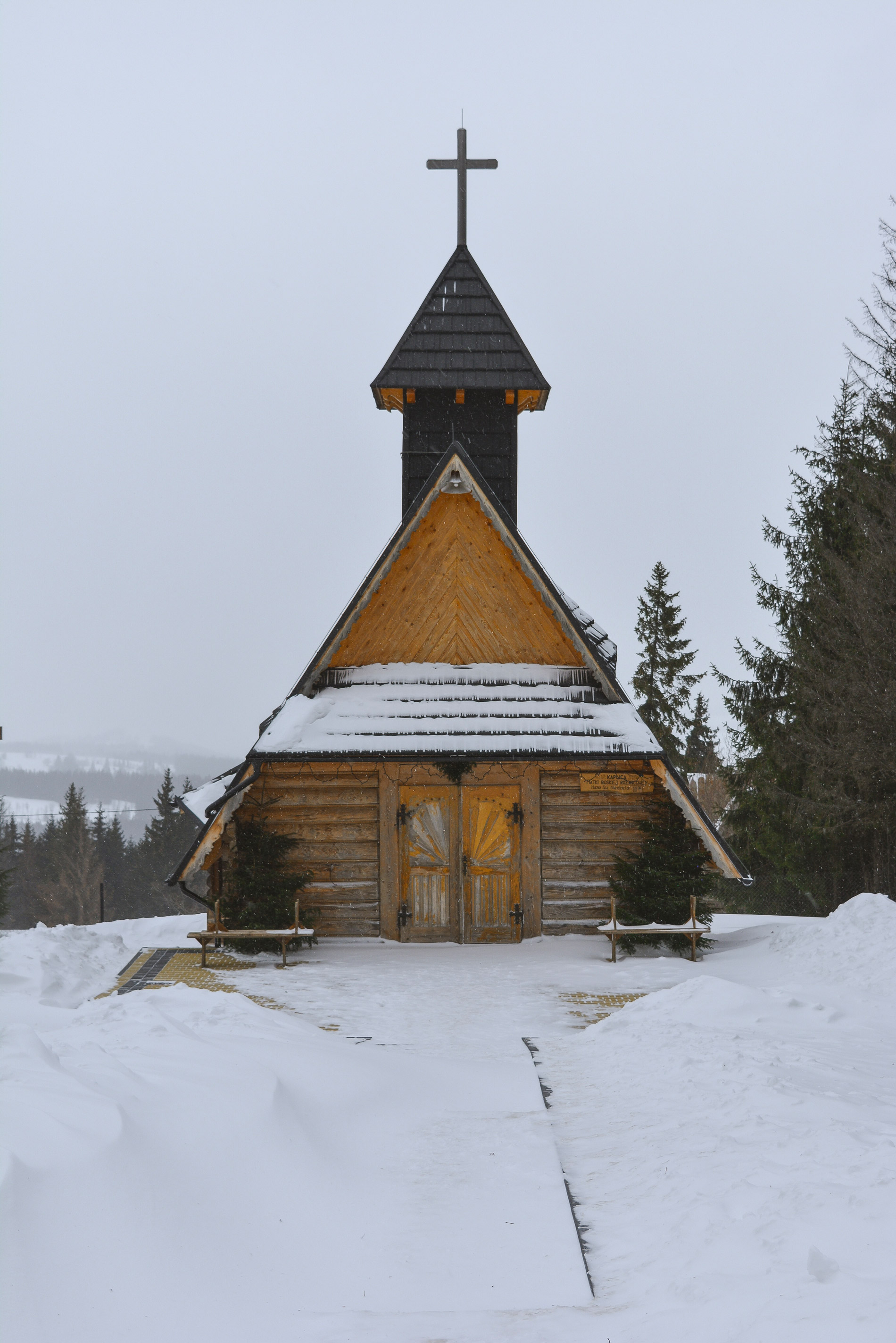 Church in the Mountain Visit Zakopane Poland