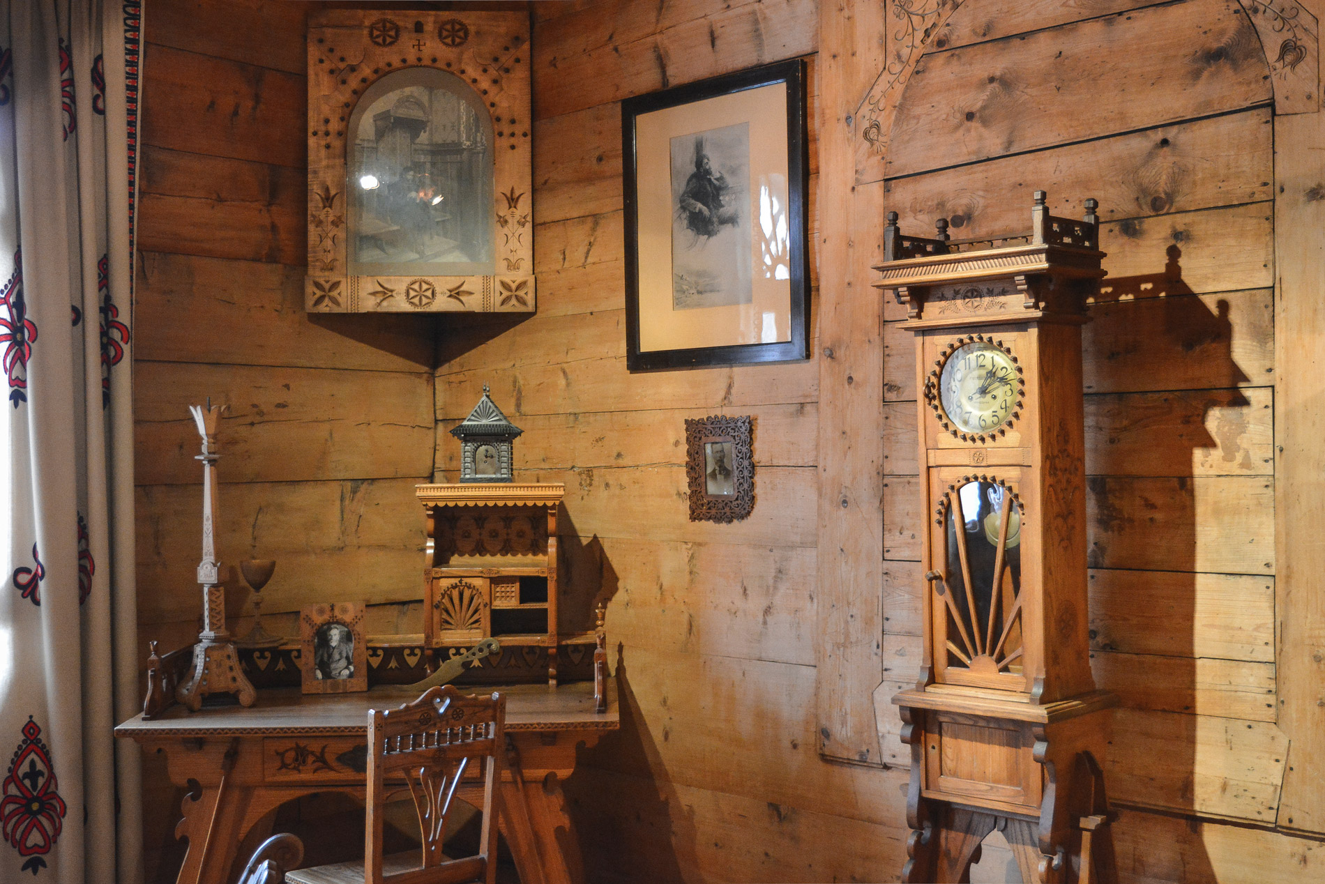 Inside of the Zakopane Style Museum you can find typical furniture