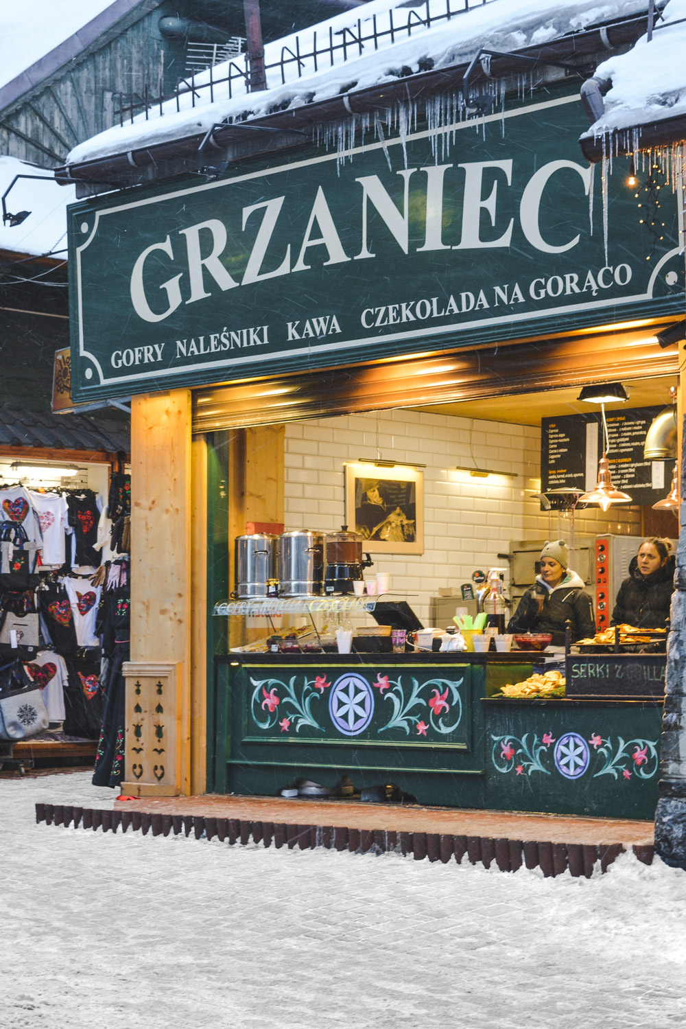 Zakopane is filled with places to grab a warm sweet bite of delicious pastries