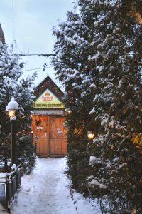 Quintessential Winter scene in Zakopane's fairytale town