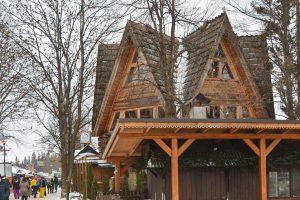 Typical sight in Zakopane Poland