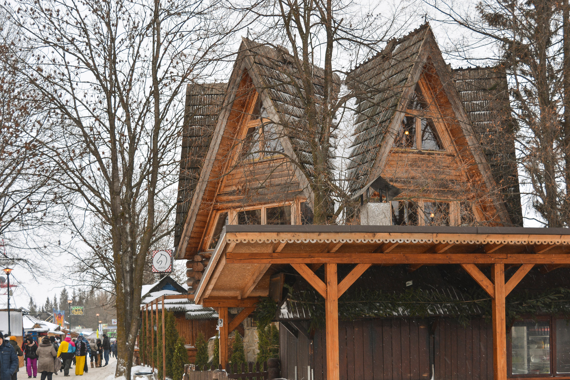 Typical sight in Zakopane Poland