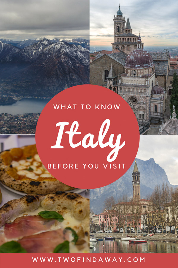 There are some things you should know before you visit Italy! Everything from the food to the crowds, this is a short guide on some of the basics. Travel Blog I Travel Tips I Italy I Visit Italy #italytips #traveltips