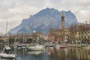 When you visit Italy you get the chance to explore nature as well: here is Lake Como as seen from Lecco