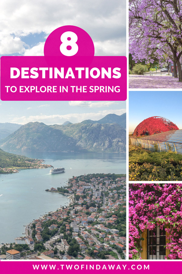 Eight destinations you absolutely can't miss during the Spring. From blooming flowers to idyllic weather, and the best festivals - here's where you need to go! Spring Travel I Spring Destinations I Travel in Spring I Destination Inspiration #springtravel #travelblog