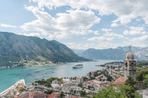The small city of Kotor can get crowded in the Summer that is why it's perfect for Spring travel
