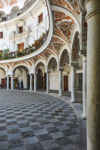 Stunning patios are one of the best kept secret Seville attractions