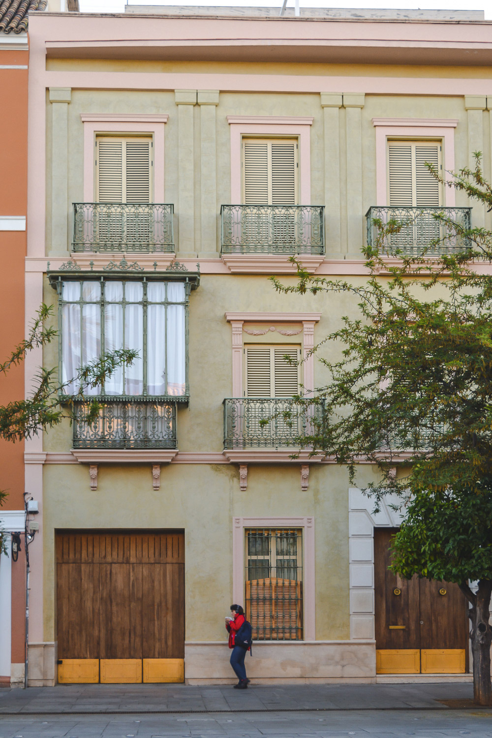 The streets of Seville are colorful and charming