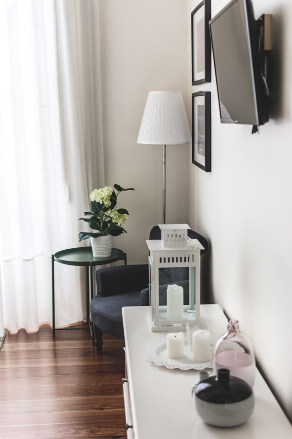 The room at Casa Ateneu are well decorated and equipped with everything you need in a hotel in Ponta Delgada