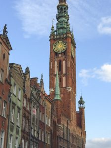 Beautiful St. Mary's Church in Gdansk Poland