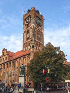 Old City Town Hall in Torun Poland