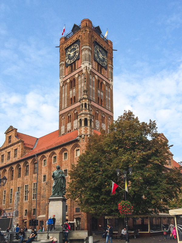 Old City Town Hall in Torun Poland