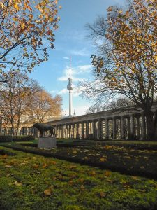 View from the Museum Island in Berlin onwards to the TV Tower