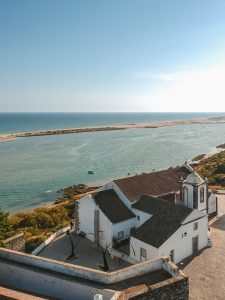 Town of Cacela Velha in Algarve in the south of Portugal