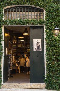 Entrance to Vida Portuguesa in downtown Lisbon
