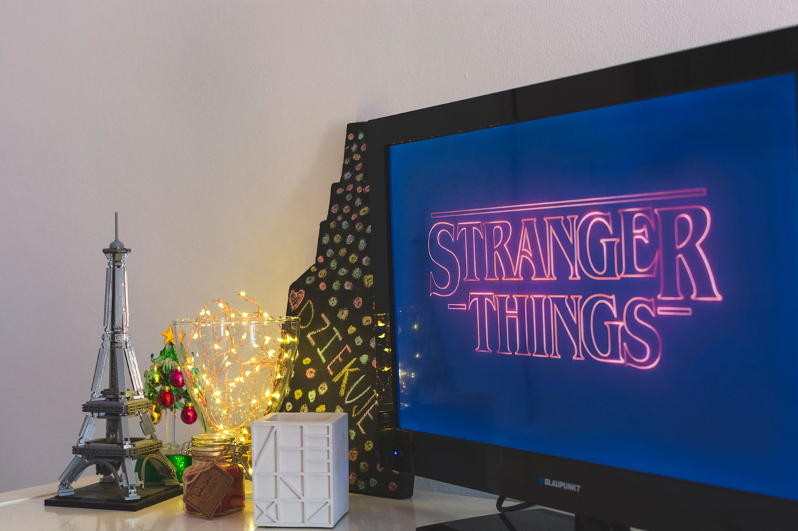 Stranger Things from our Living Room