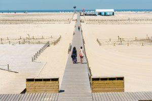 Huge beach in Figueira da Foz Portugal