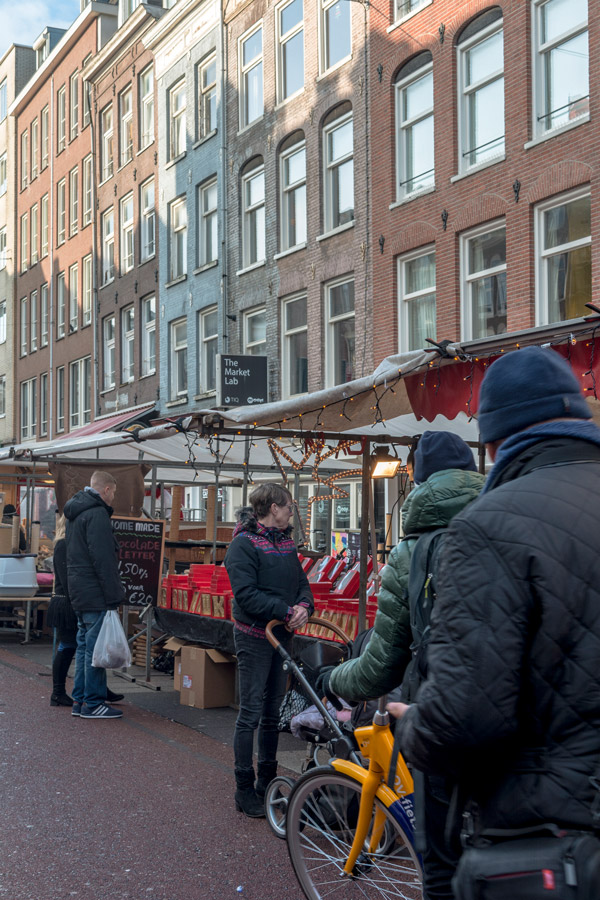 The Albert Cuyp Market is an attraction you can't miss when visiting Amsterdam