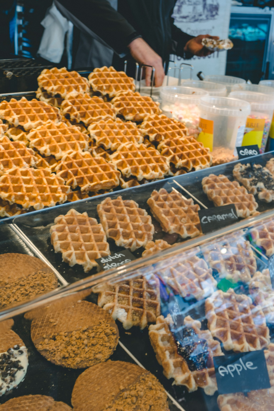 Dutch cuisine is know for different types of waffles all of them delicious