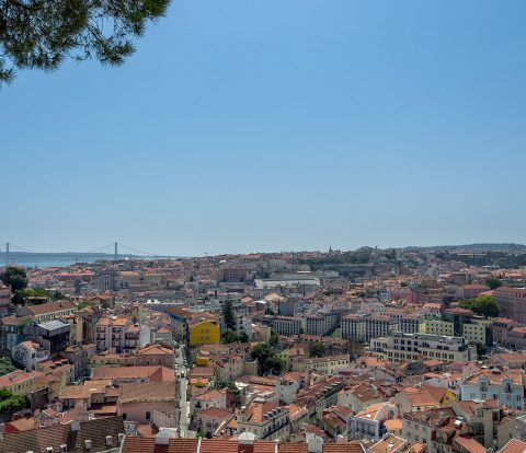 Lisbon has some stunning views
