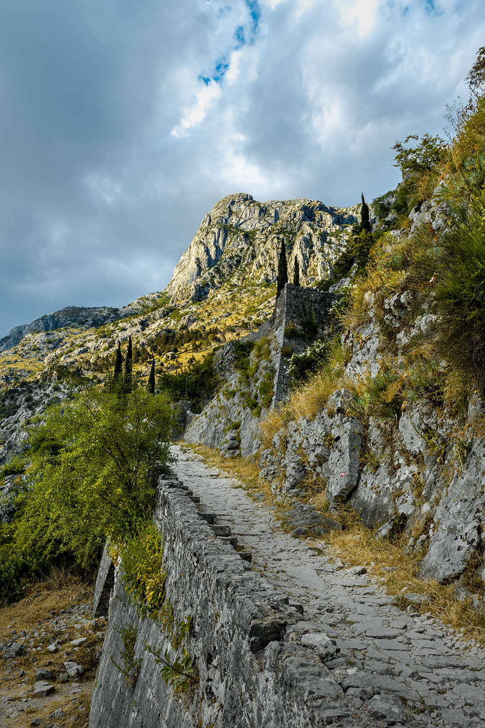 The Montenegro City Walls are a great place to see views of the city, but they're stunning on their own