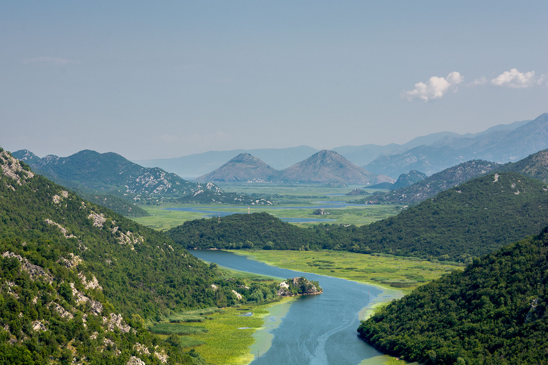 The Skadar Lake is one of the most beautiful attractions of Montenegro