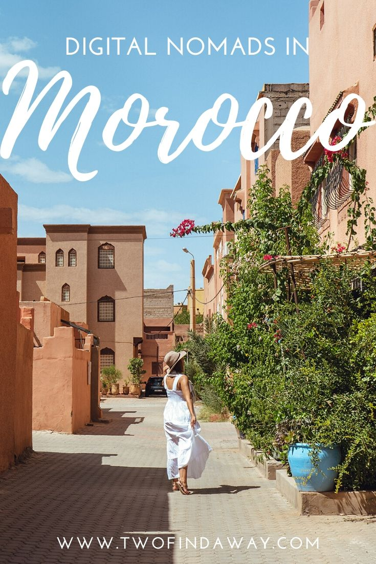 There are many reasons why digital nomads love Morocco. Learn all about our experience in Morocco and our stay at the Dar Digital Nomad coworking and coliving apartment in Ouarzazate. #ouarzazate #morocco #digitalnomads