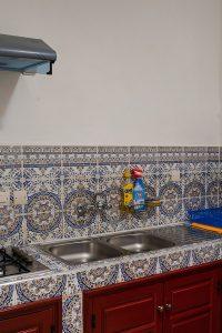 The kitchen at Dar Digital Nomad