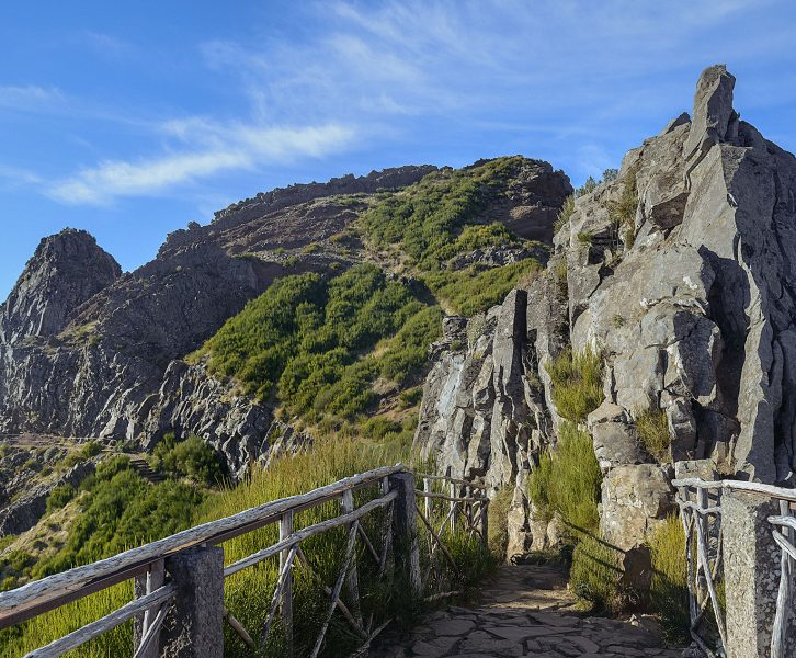 Ninho da Manta is a stunning viewpoint in the PR1 trail in Madeira