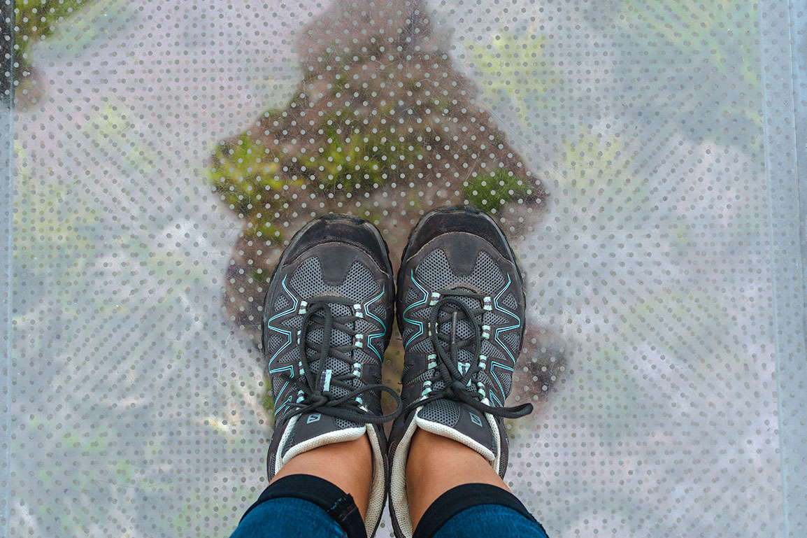 Good hiking shoes are a must to hike in Madeira