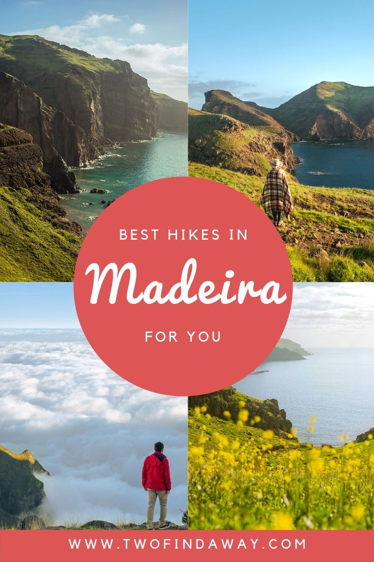 Madeira is filled with stunning hikes and walks for all types of travelers. Check our complete guide to the best hikes and walks in this Portuguese island! #Madeira #Portugal #travelguide #hikingguide #travelblog