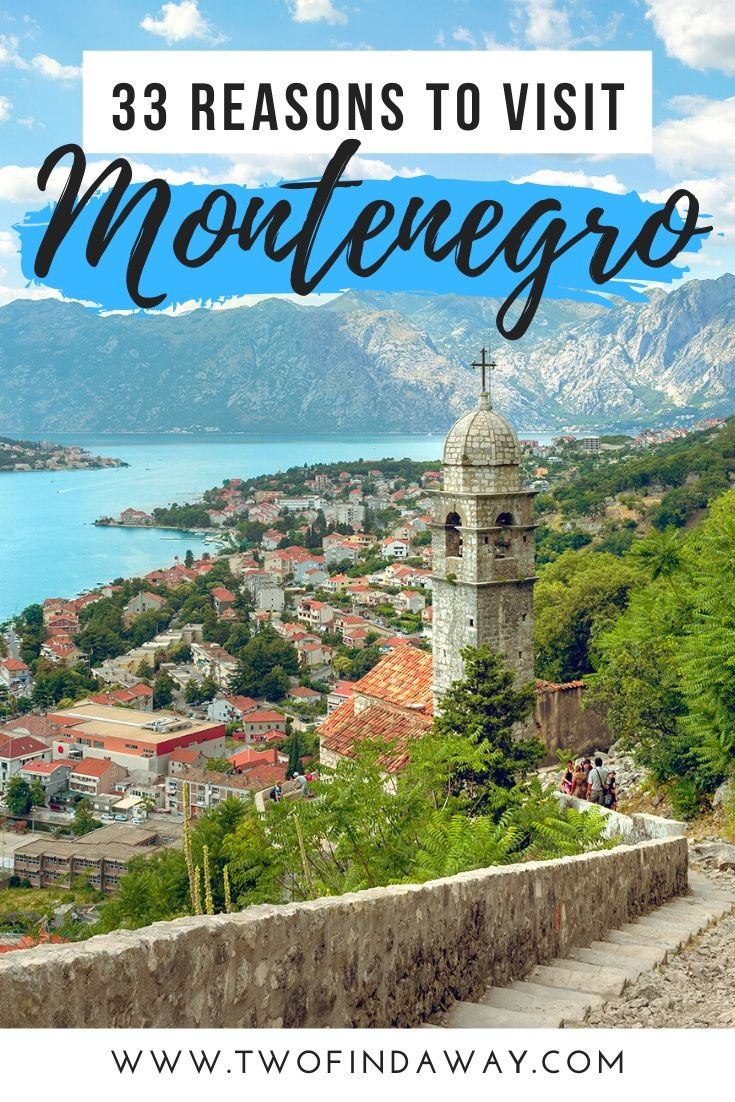 Montenegro is one of the most beautiful destinations in Europe, and a destination you need to add to your travel bucket list. In this post, we share 33 photos of Montenegro that will make you want to book a trip to this stunning Balkan country! We tell you why you need to go and the best places to visit in Montenegro. Montenegro Itinerary I Where to go in the Balkans I Visit Montenegro I Travel Montenegro I See Kotor I Europe Best Destinations #montenegro #kotor #travel #visitmontenegro #balkans