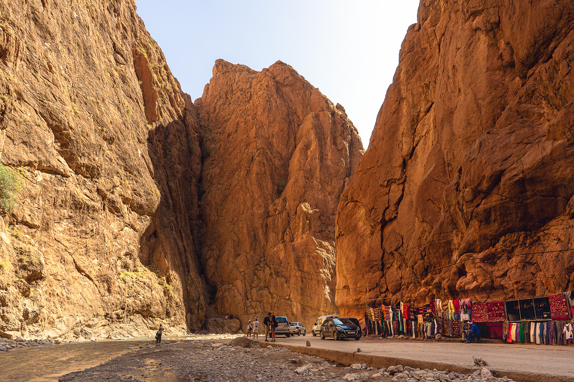 The incredible canyons of Morocco during our desert tour