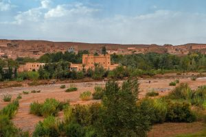 An out-of-season Valley of the Roses in Morocco