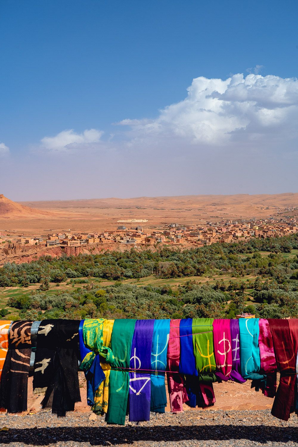 Views along the way during our Morocco desert excursion