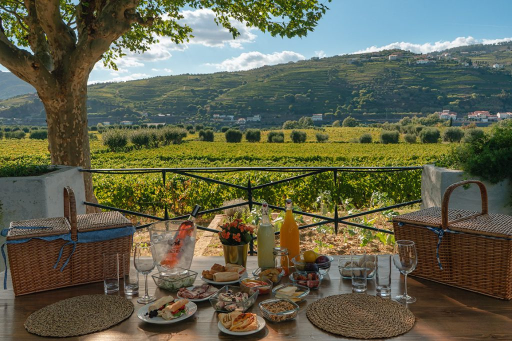 The Douro Valley is the perfect place to have a picnic