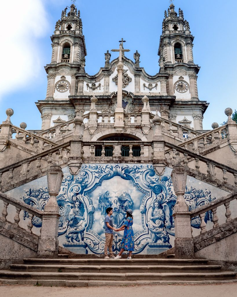 One of the most beautiful landmarks in the Douro Valley is the Lamego Sanctuary