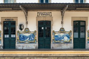 The train station of Pinhão is an attraction to visit in the Douro Valley