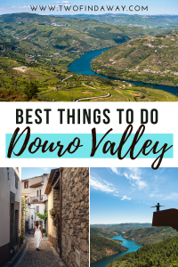 A travel guide with the best things to do in the Douro Valley, one of the most beautiful regions in Portugal. You need to add the Douro Valley to your travel bucketlist, as it's a destination filled with beauty. Where to go in the Douro Valley I Douro Valley Itinerary I Douro Valley Travel Guide I What to Visit in Portugal I Portugal Travel I Activities in the Douro Valley #portugal #dourovalley